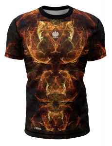 T-shirt FIRE ORANGE